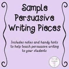 Writing Persuasive Essays Ereading Worksheets